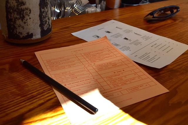 Menus at Bao, Fitzrovia | www.rachelphipps.com @rachelphipps