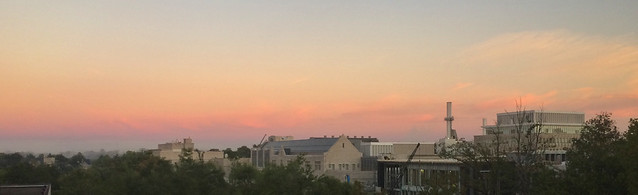 Belt of Venus with a Band of Clouds
