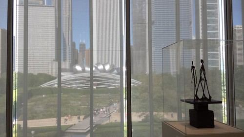 Giacometti and the view from inside the Art Institute of Chicago
