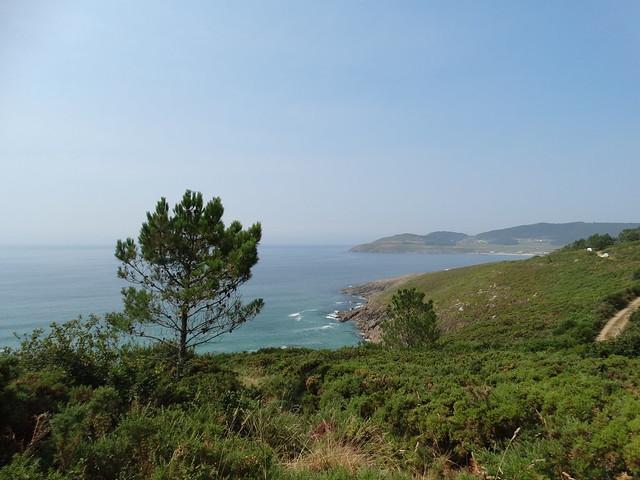Vistas en la costa de Cee