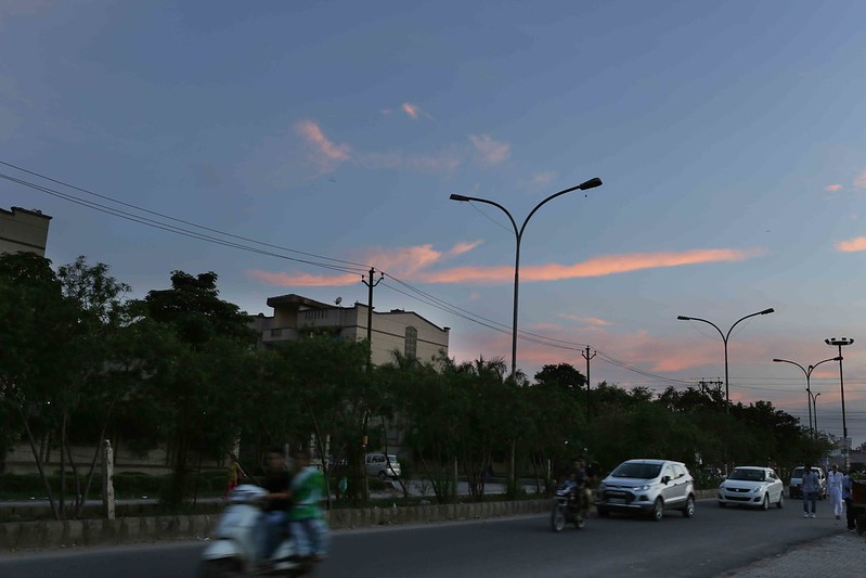 City Nature - The Dream Sky of a Nightmare City, Mainly East Delhi