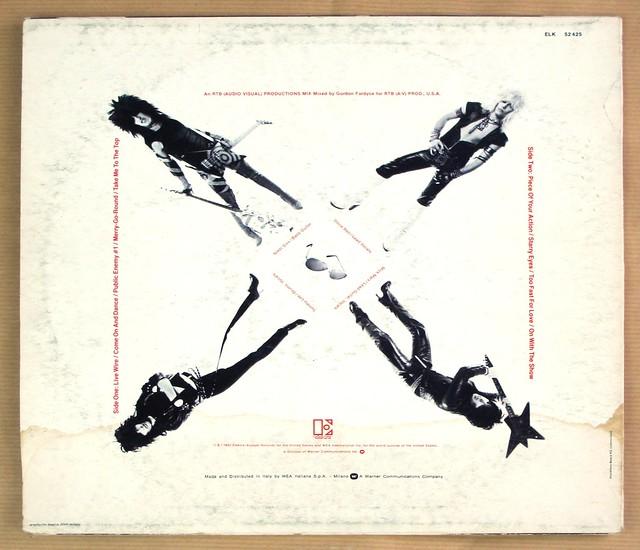 "MÖTLEY CRÜE TOO FAST FOR LOVE ITALY 12"" LP VINYL"