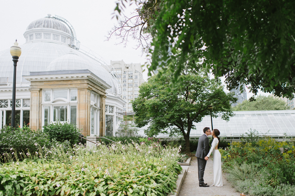 Celine Kim Photography Allan Gardens Auberge du Pommier romantic intimate restaurant Toronto fall wedding-36