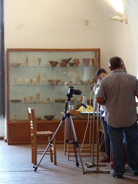 photographie dans le musée
