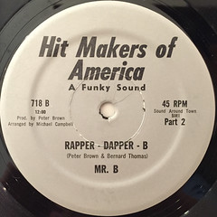 MR.B:RAPPER DAPPER B(LABEL SIDE-B)