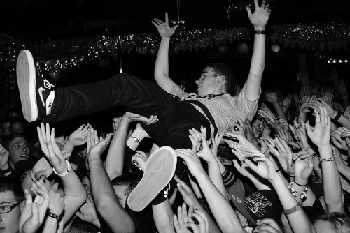 Crowd surfer 1 (5/365) | by rmlx
