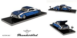 Ford Thunderbird Hardtop (Kustom - 1961)