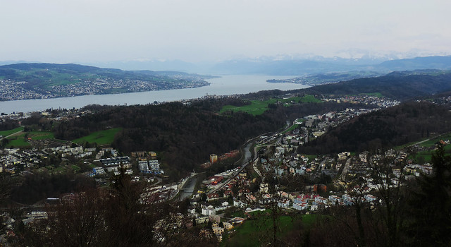 View from Felsenegg, Switzerland