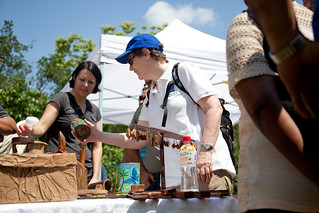 UNDP Administrator Helen Clark at Bijagual Community products display - Costa Rica | by United Nations Development Programme