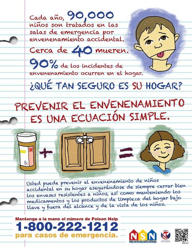 Prevenir el envenenamiento es una ecuación simple