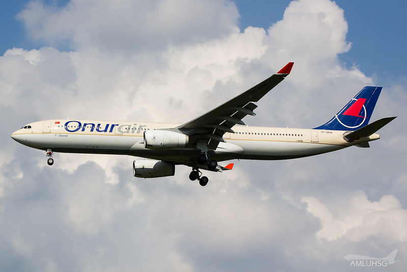 Onur Air - A333 - TC-OCB (2)