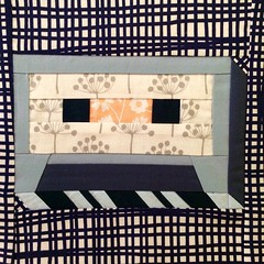 Paper pieced cassette tape, take 2