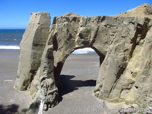 Sea Arch at Flores Beach, Oregon