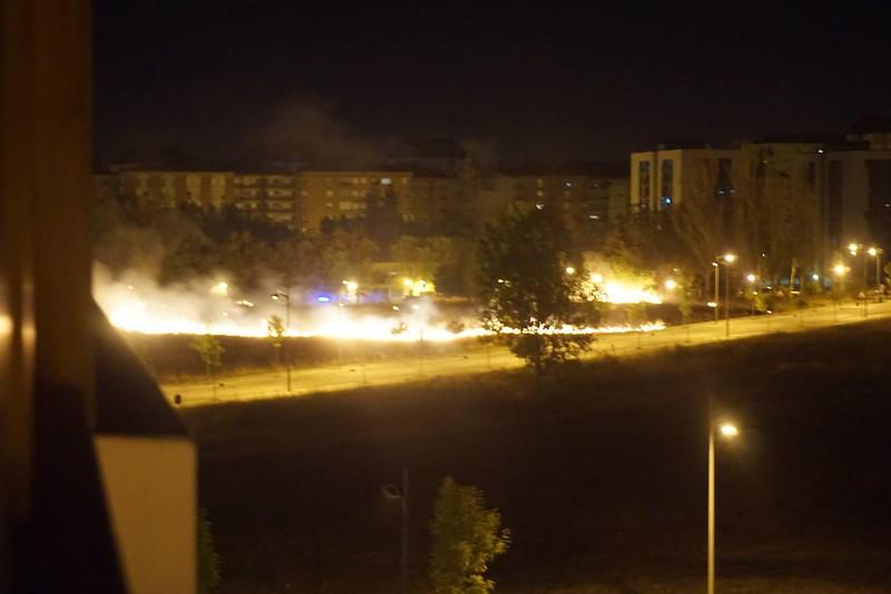 Incendio Parque Borinbizkarra