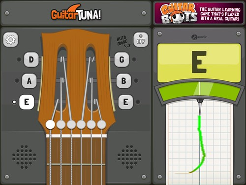 how to tune my guitar to open c