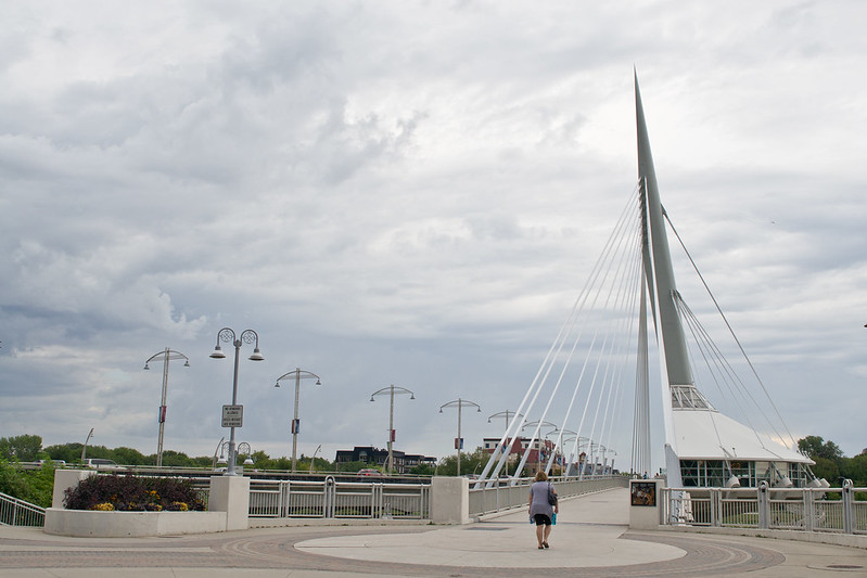 Esplanade Riel in Winnipeg