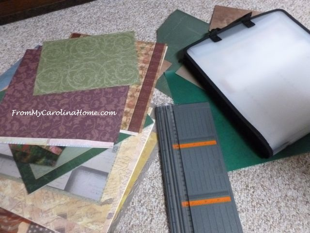 Stamping Score at the Thrift Store ~ From My Carolina Home