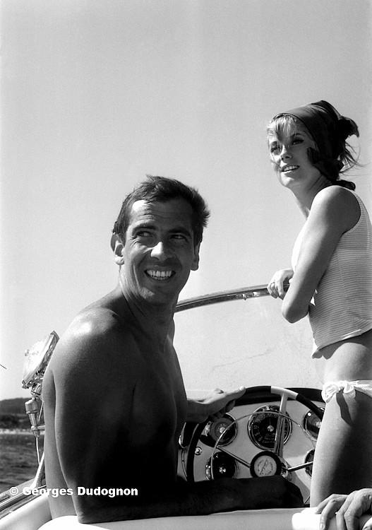 9070-01-60-Roger Vadim et Catherine Deneuve 1962