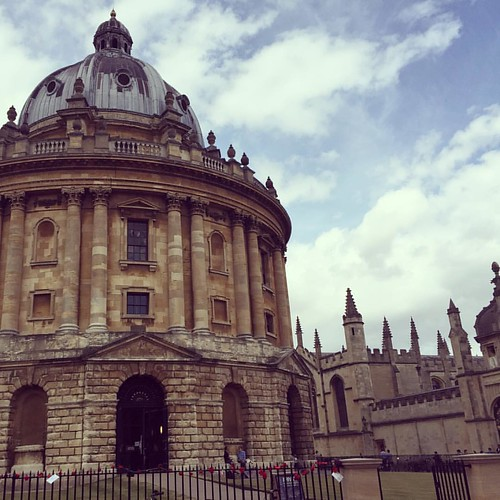 Radcliffe Camera. Breathtaking.