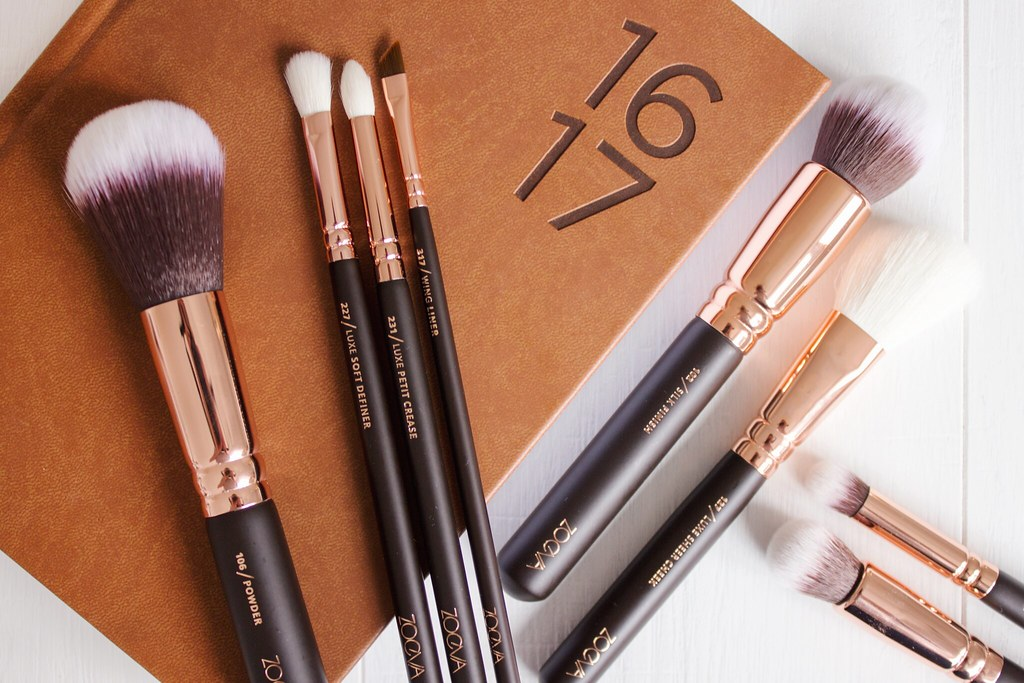 Zoeva Rose Gold Make Up Brushes