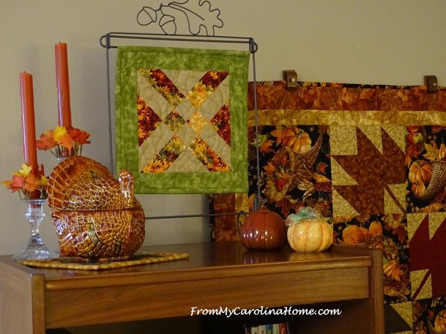 Decorating for Autumn ~ From My Carolina Home