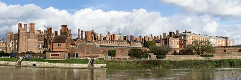 A Panorama of Hampton Court Palace