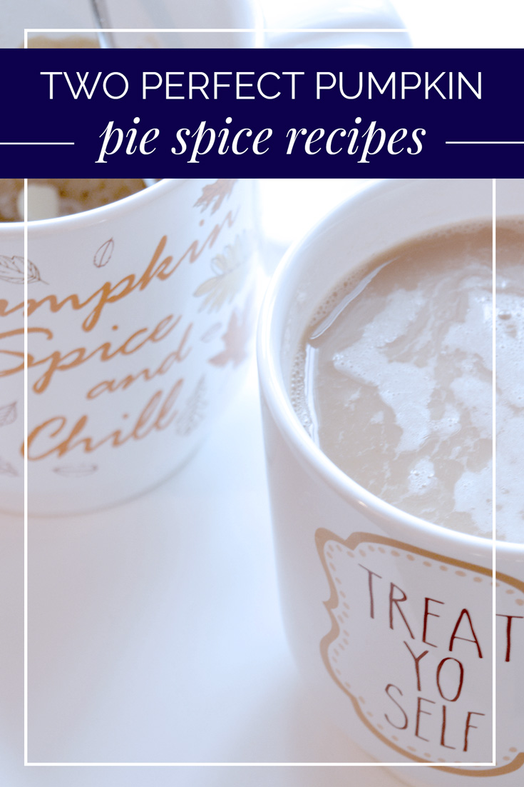 Pumpkin Pie Spice Double Duty