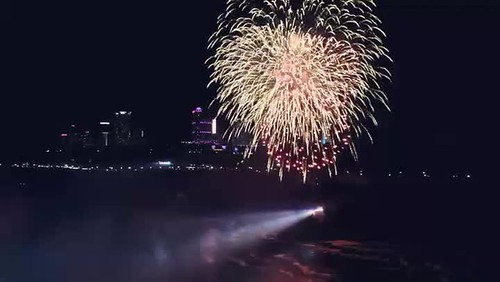 Fireworks over Niagara