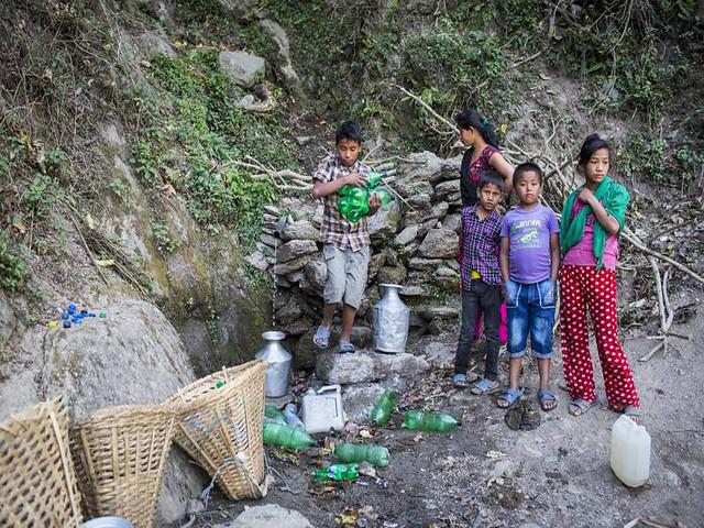 नेपाल में पानीको मुहानहरू जलस्रोत
