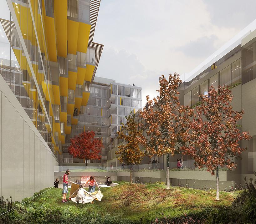 Жилой комплекс West Half в Вашингтоне. Проект ODA