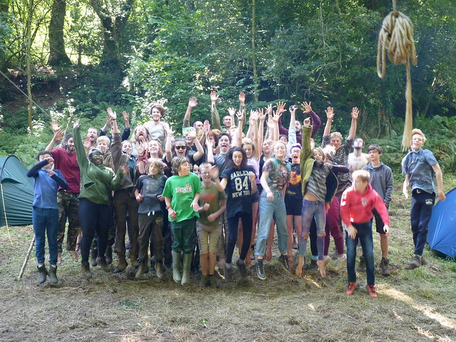 2016 08 Bristol Mockingjay camp
