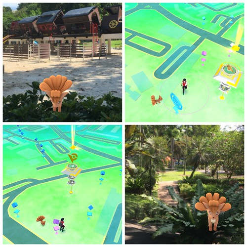 Pokemon Go training tour of Singapore: farming the Vulpix nest at Tiong Bahru Park