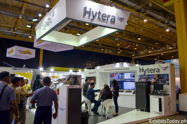 Hytera Exhibit Booth