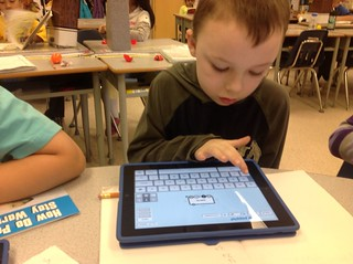 Using Popplet During Guided Reading