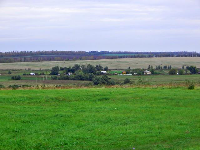 Пейзаж в Тульской области | HoroshoGromko.ru