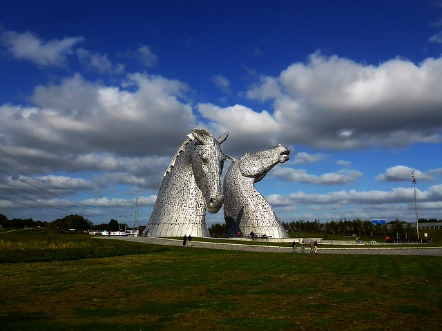 Kelpies, The Helix, Falkirk, Scotland.