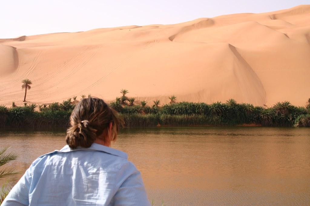 Amazing Salty Lakes Of Ubari Sand Sea