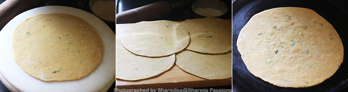 How to make Phool Makhana Paratha - Step3