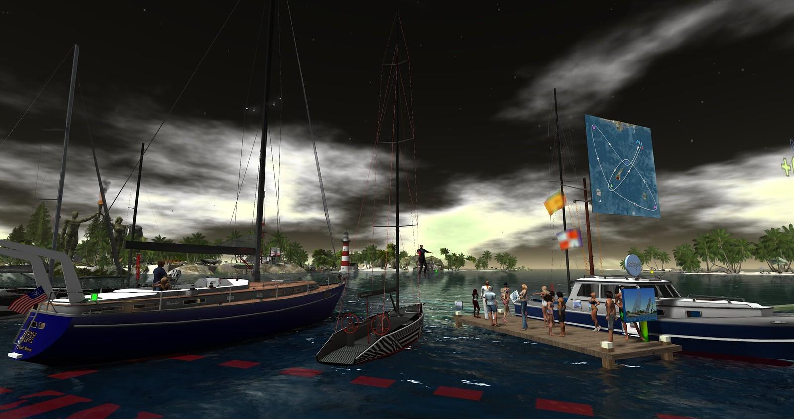 North Sea Open Regatta Big Boat Skipper's Meeting 09/21/16 - Courtesy of Cranston Yordstorm