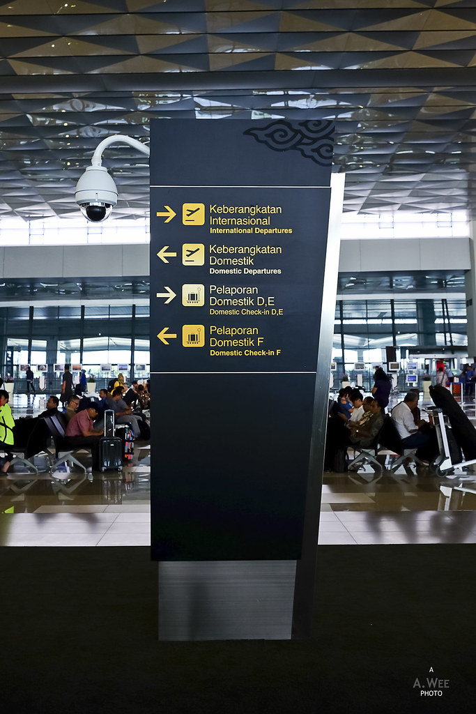 Signage in the Terminal