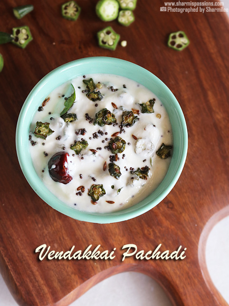 Vendakkai Thayir Pachadi Recipe