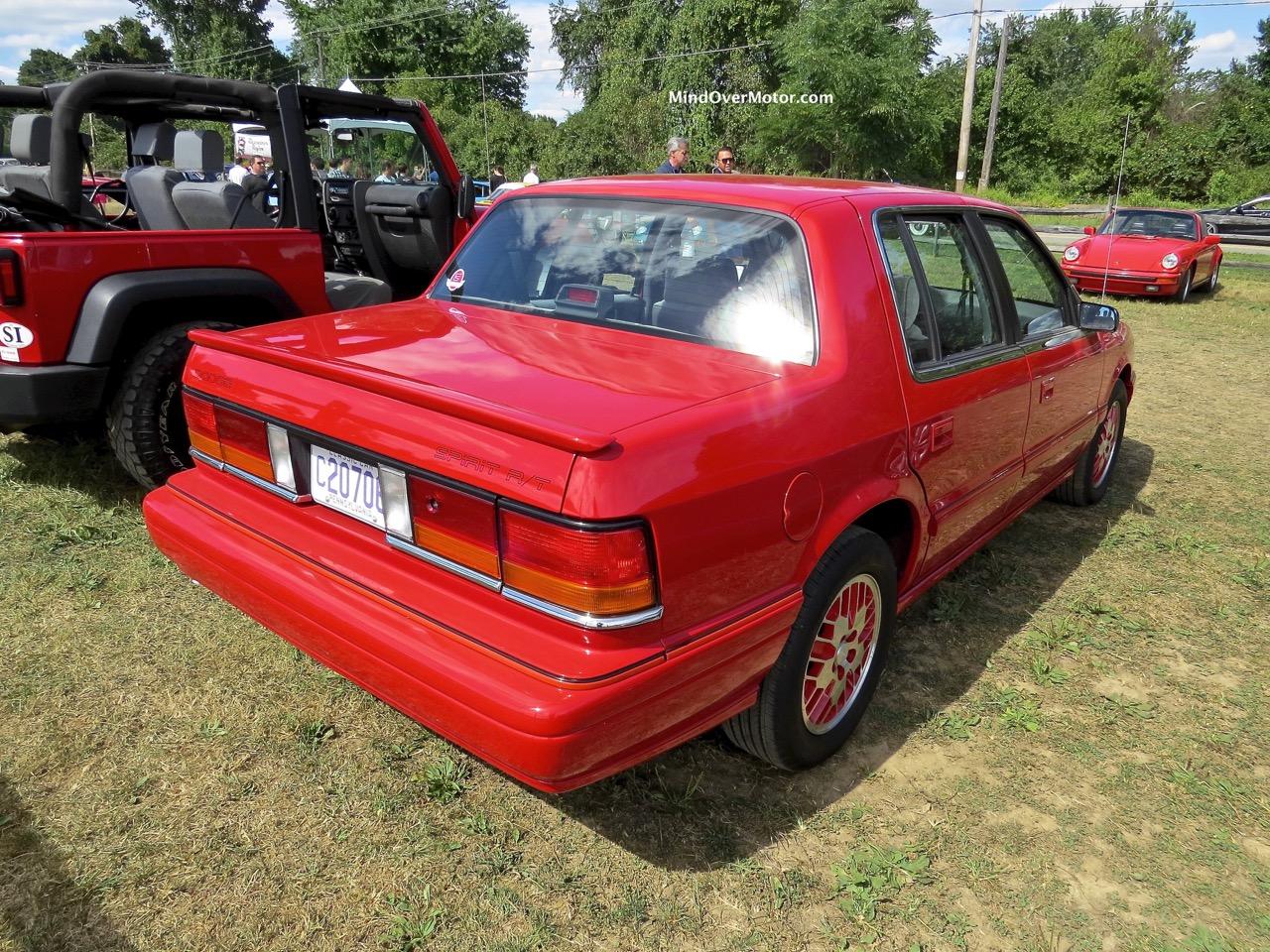 1991 Dodge Spirit R:T Rear 1