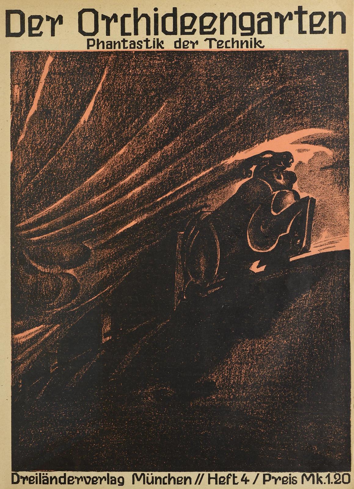 Der Orchideengarten - 1920 (Cover 4)