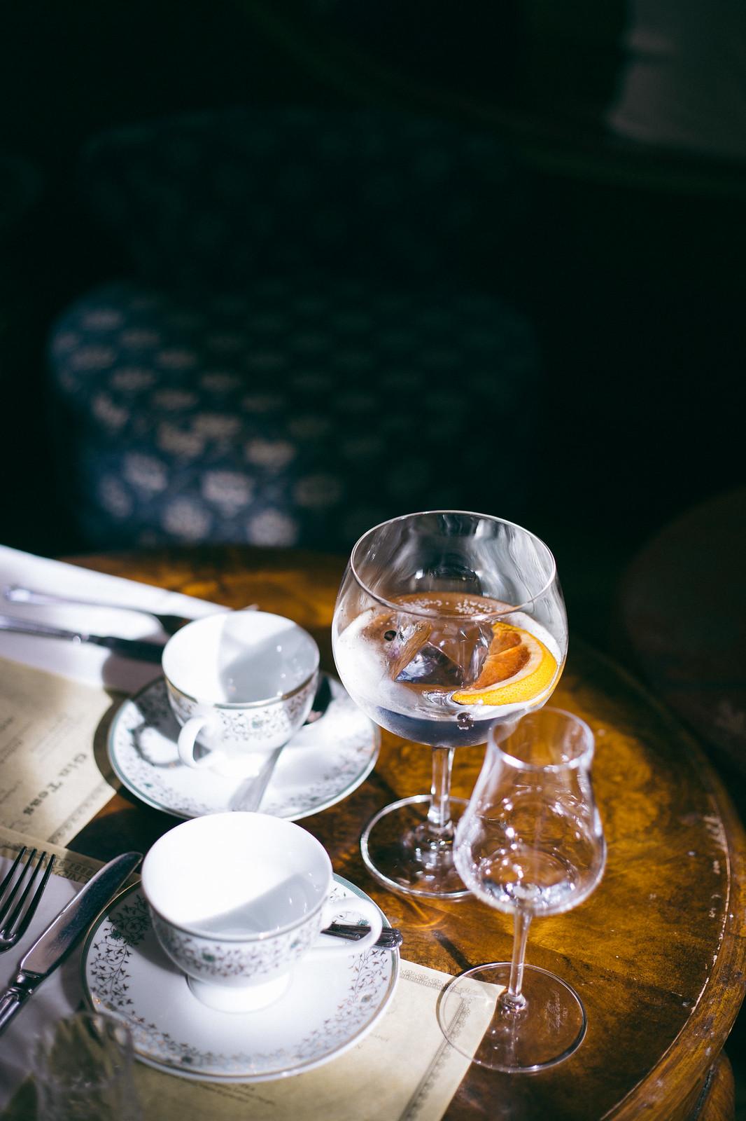 {mr. fogg's gin parlour} via chevrons & éclairs