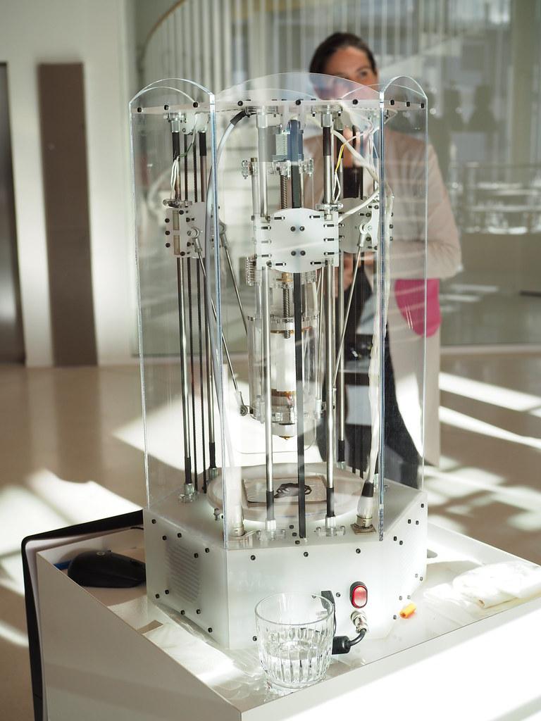 3D-tulostin suklaalle