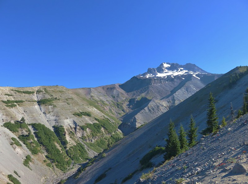 Mt. Hood and the Zigzag River Canyon