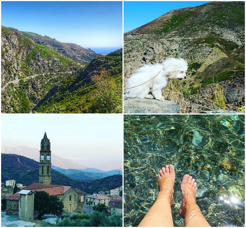 Instagram-kuvia Korsikalta