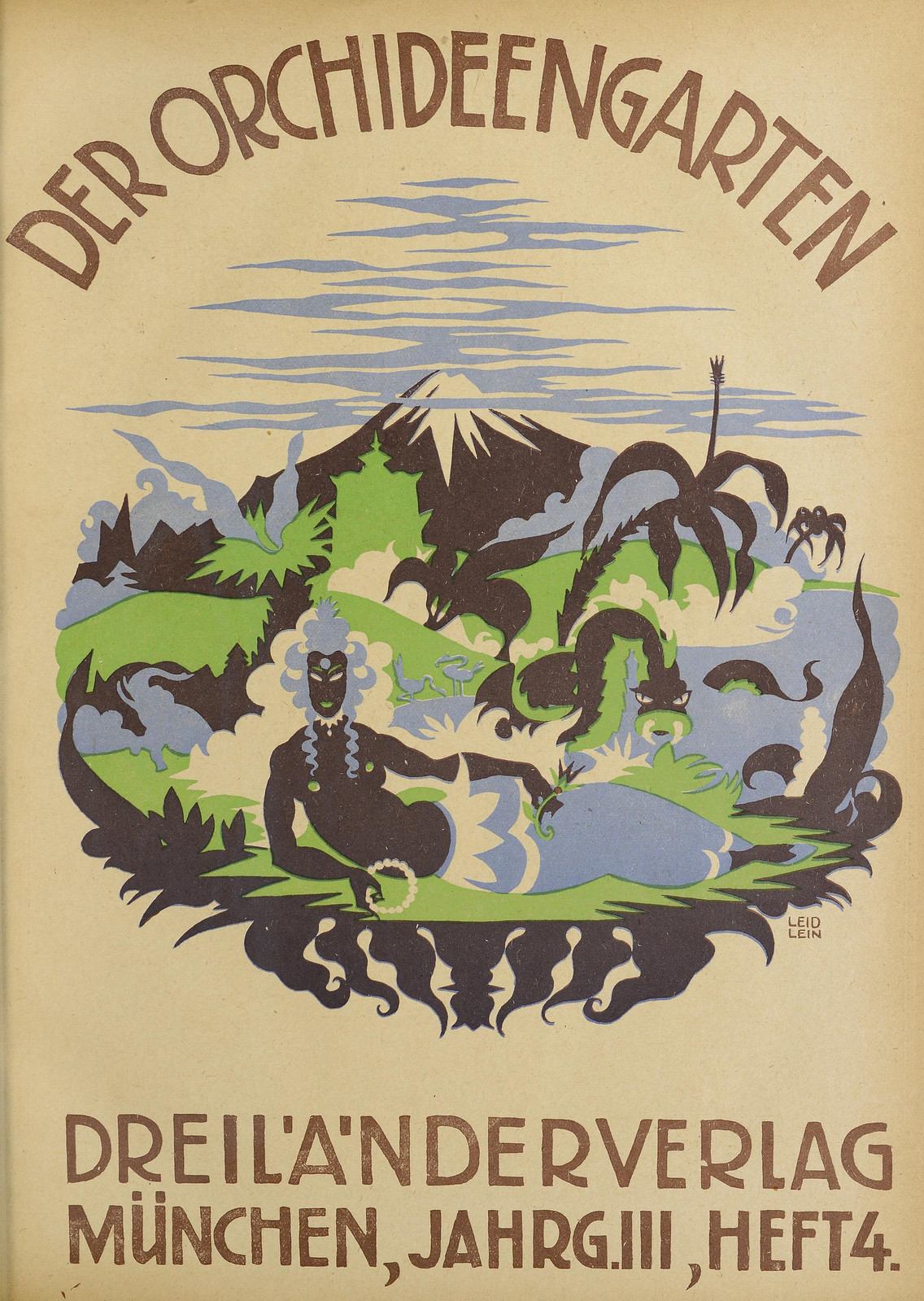 Der Orchideengarten - 1921 (Cover 4)