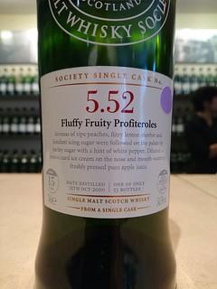 SMWS 5.52 - Fluffy Fruity Profiteroles