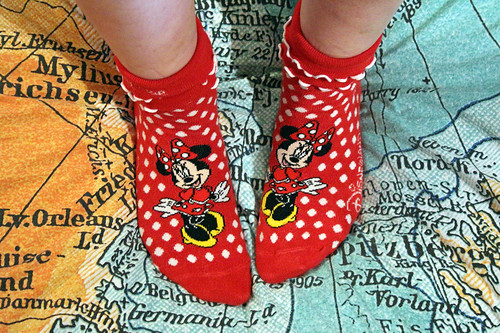 #FallintoDisneyStyle day 12 - Disney socks